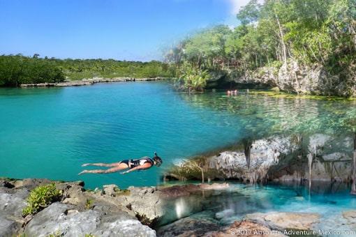 yalku-lagoon-cenote-tour